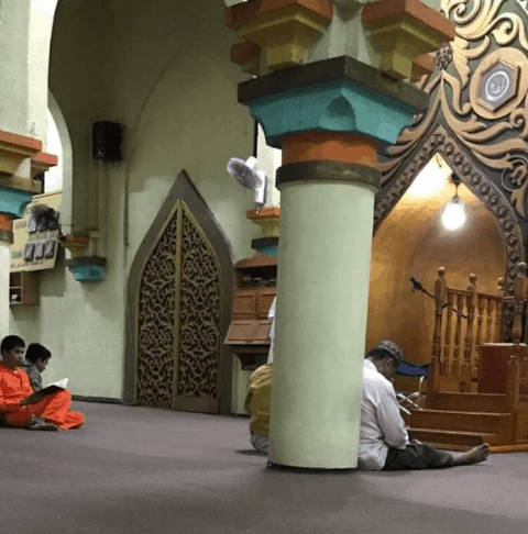 mihrab masjid al dahab