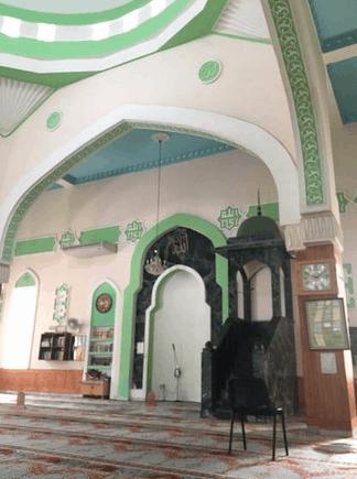 mihrab masjid paola