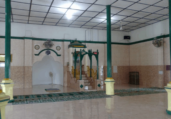 mihrab masjid sunggal