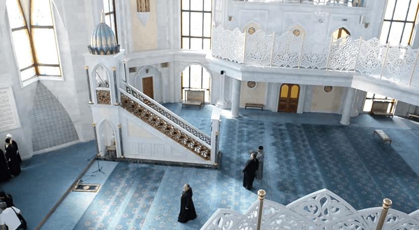 mimbar masjid kazan