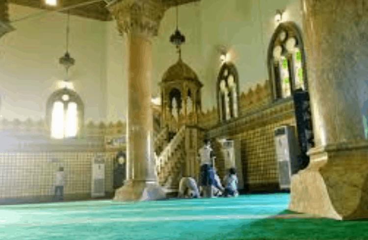 mimbar masjid raya al mashun