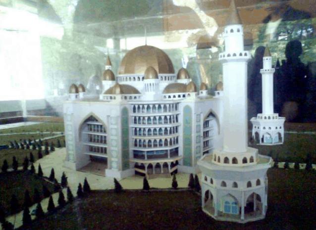 miniatur masjid al zaytun