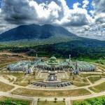 Masjid Agung Natuna di Kepulauan Riau