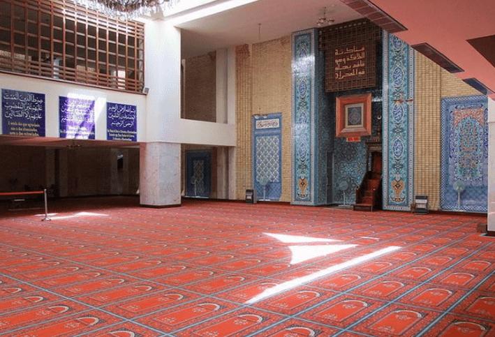 ruang utama masjid agung lisabon
