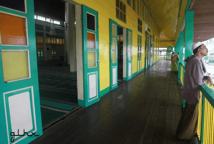 teras masjid jami pontianak