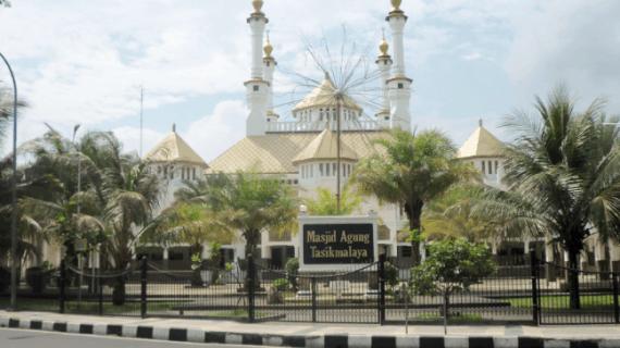 Pesona Masjid Agung Kota Tasikmalaya