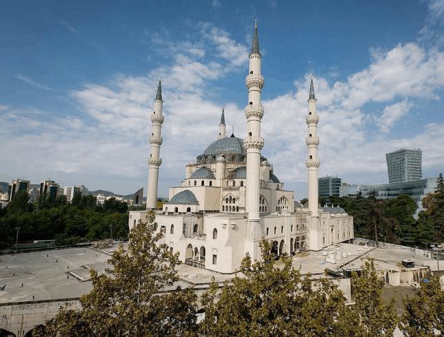 Masjid Agung Tirana Albania 2