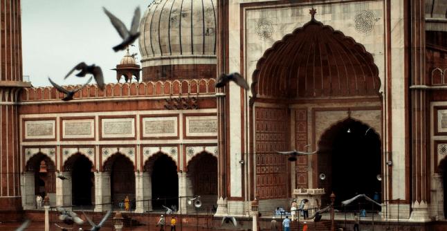 Masjid Paling Indah di India I 3
