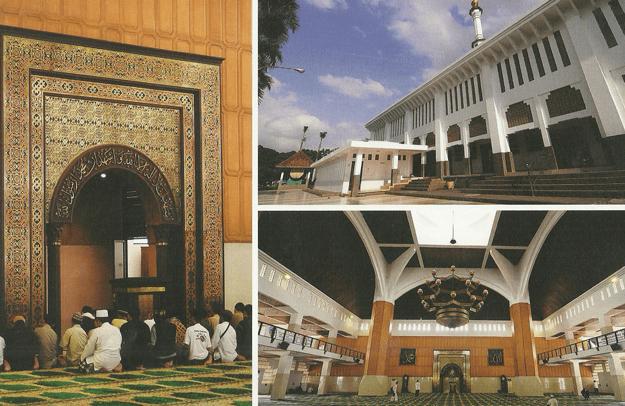 arsitektur Masjid Agung Kota Tasikmalaya