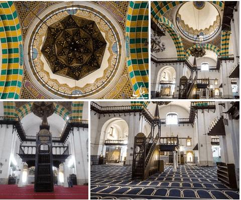 arsitektur Masjid Jamaa al-Jadid, Aljazair