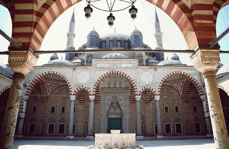 arsitektur Masjid Selimiye