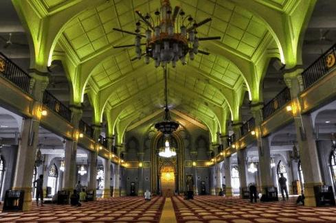 arsitektur Masjid Sultan Singapore
