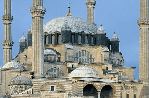 kubah Masjid Selimiye