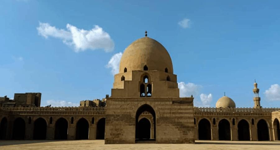kubah masjid ibnu tulun