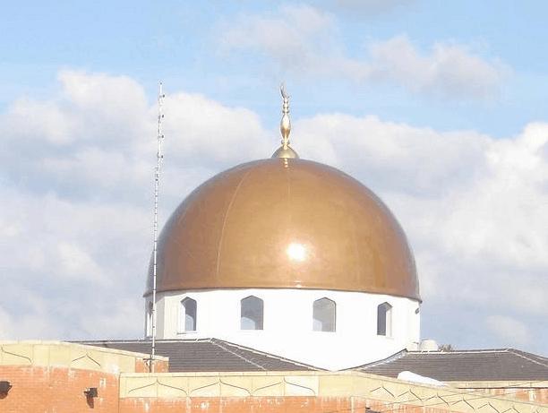 kubah masjid zakariyya