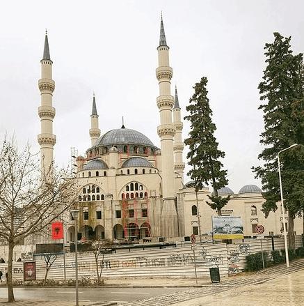 Masjid Agung Tirana Albania 1