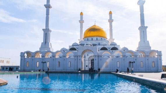 Keindahan Masjid Nur Astana Kazakhstan
