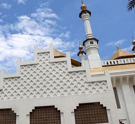 menara masjid agung kota tasikmalaya