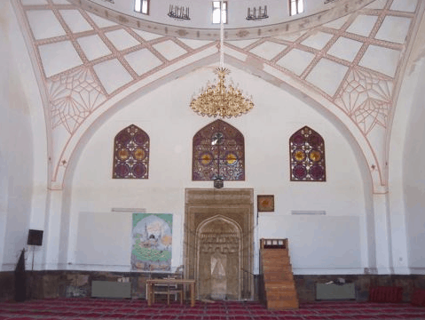 mihrab Masjid Biru Yerevan