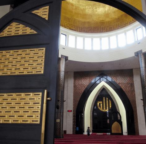 mihrab masjid nurani