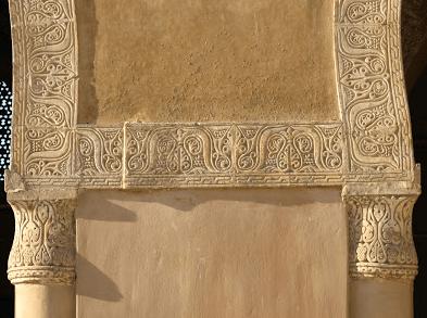 ornamen masjid ibnu tulun