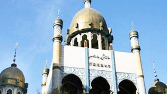 Masjid di Kota Urumqi di Provinsi Xinjiang