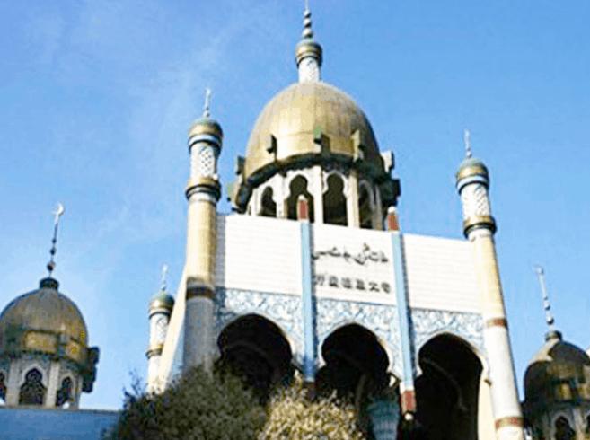 Masjid di Kota Urumqi di Provinsi Xinjiang 5