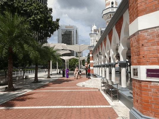 Pesona Masjid Jamek Kuala Lumpur Malaysia 3