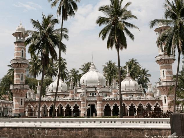 Pesona Masjid Jamek Kuala Lumpur Malaysia 1