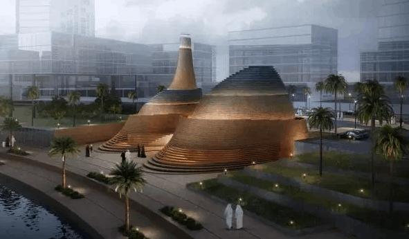 Masjid Al Dana di Abu Dhabi 1