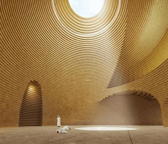Masjid Al Dana di Abu Dhabi 4