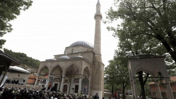 Masjid Aladža di Bosnia dan Herzegovina di bangun dengan Gaya Ottoman