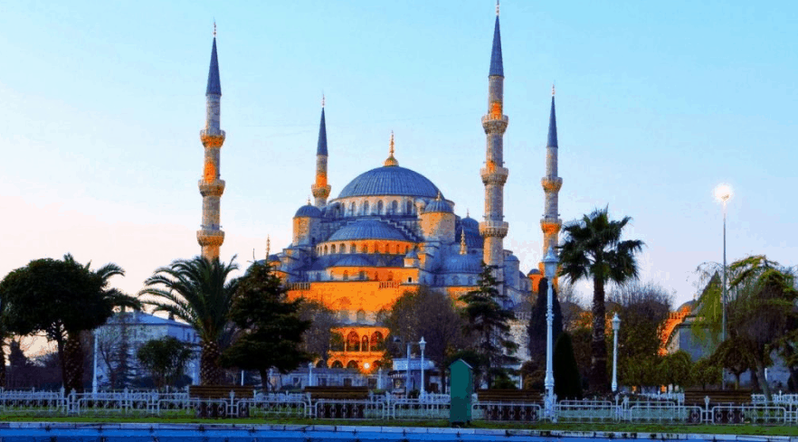Masjid Terindah Di Timur Tengah Turki Iv Kontraktor Kubah Masjid