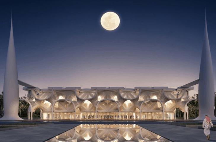 Dua Masjid dengan Arsitektur Modern 1