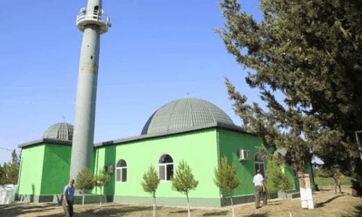 Masjid Turki Ahıska di Azerbaijan 1