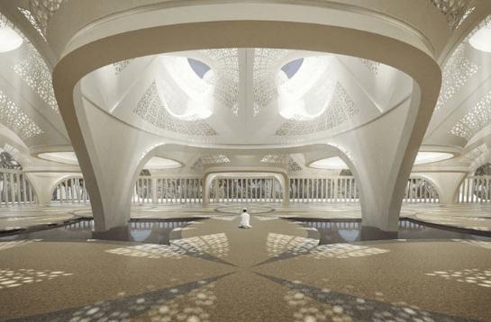 Dua Masjid dengan Arsitektur Modern 2