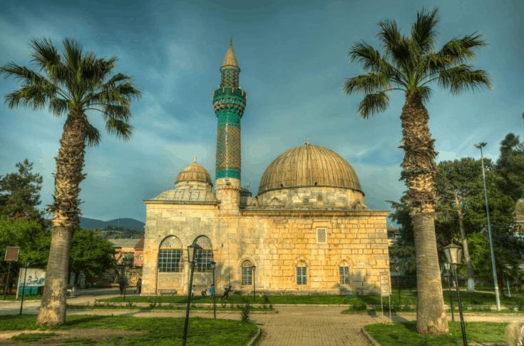Masjid Hijau di Bursa Turki II 3