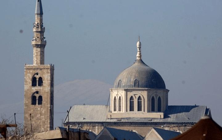 Masjid Agung Damaskus 1