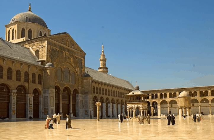 Masjid Agung Damaskus 3
