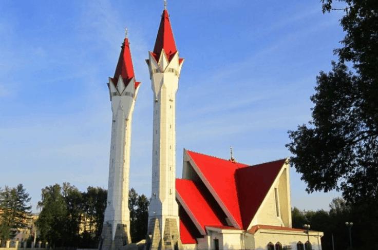 Masjid Paling Terkenal Di Rusia 4