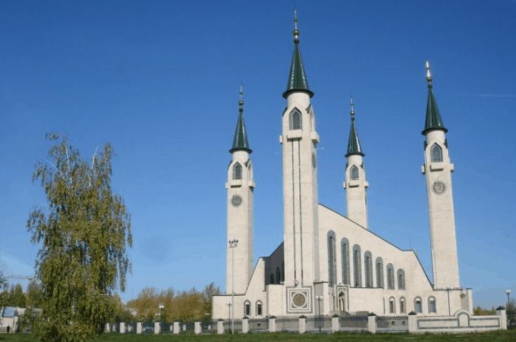 Masjid Paling Terkenal Di Rusia 8