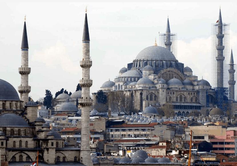 Masjid dengan Arsitektur Terbaik di Istanbul (1) 2