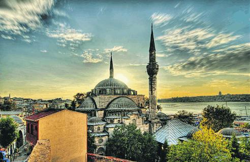 Masjid-masjid yang Menakjubkan di Istanbul