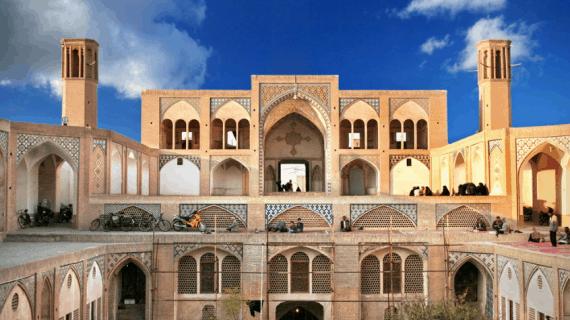 Masjid Agha Bozorg : Perpaduan indah arsitektur Islam dan Persia