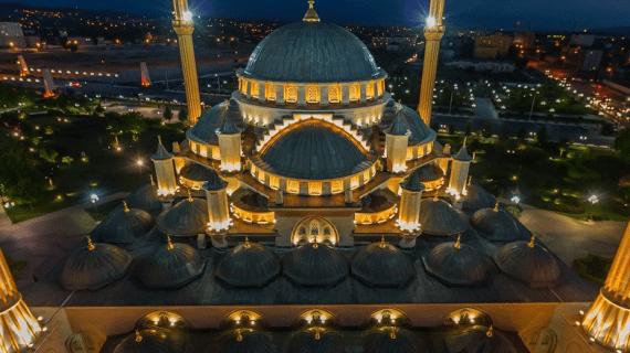 Masjid Akhmad Kadyrov, Grozny, Rusia