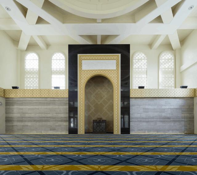 Lima Interior Masjid Kontemporer dari Seluruh Dunia 3