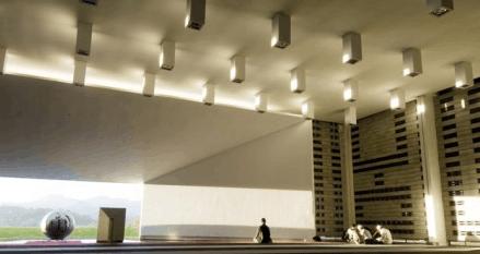 Lima Interior Masjid Kontemporer dari Seluruh Dunia 1