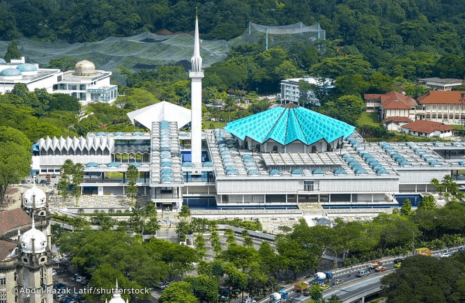 Masjid Agung di Kuala Lumpur (1) 1