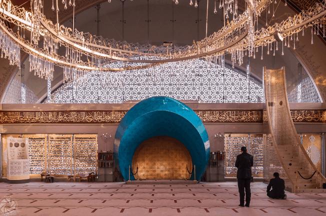 Lima Interior Masjid Kontemporer dari Seluruh Dunia 5