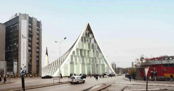 Masjid Modern Sentral Pristina
